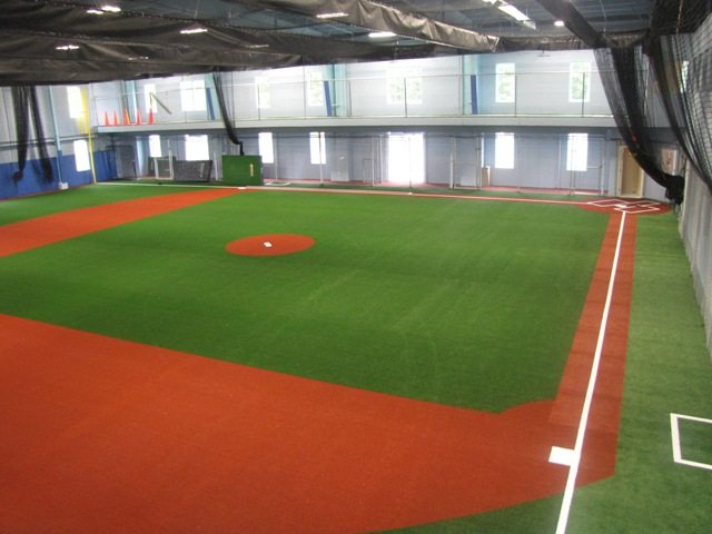 Contact hitters baseball academy for Design indoor baseball facility